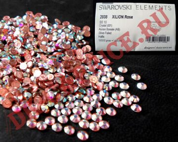 стразы Swarovski elements SS10  Crystal AB